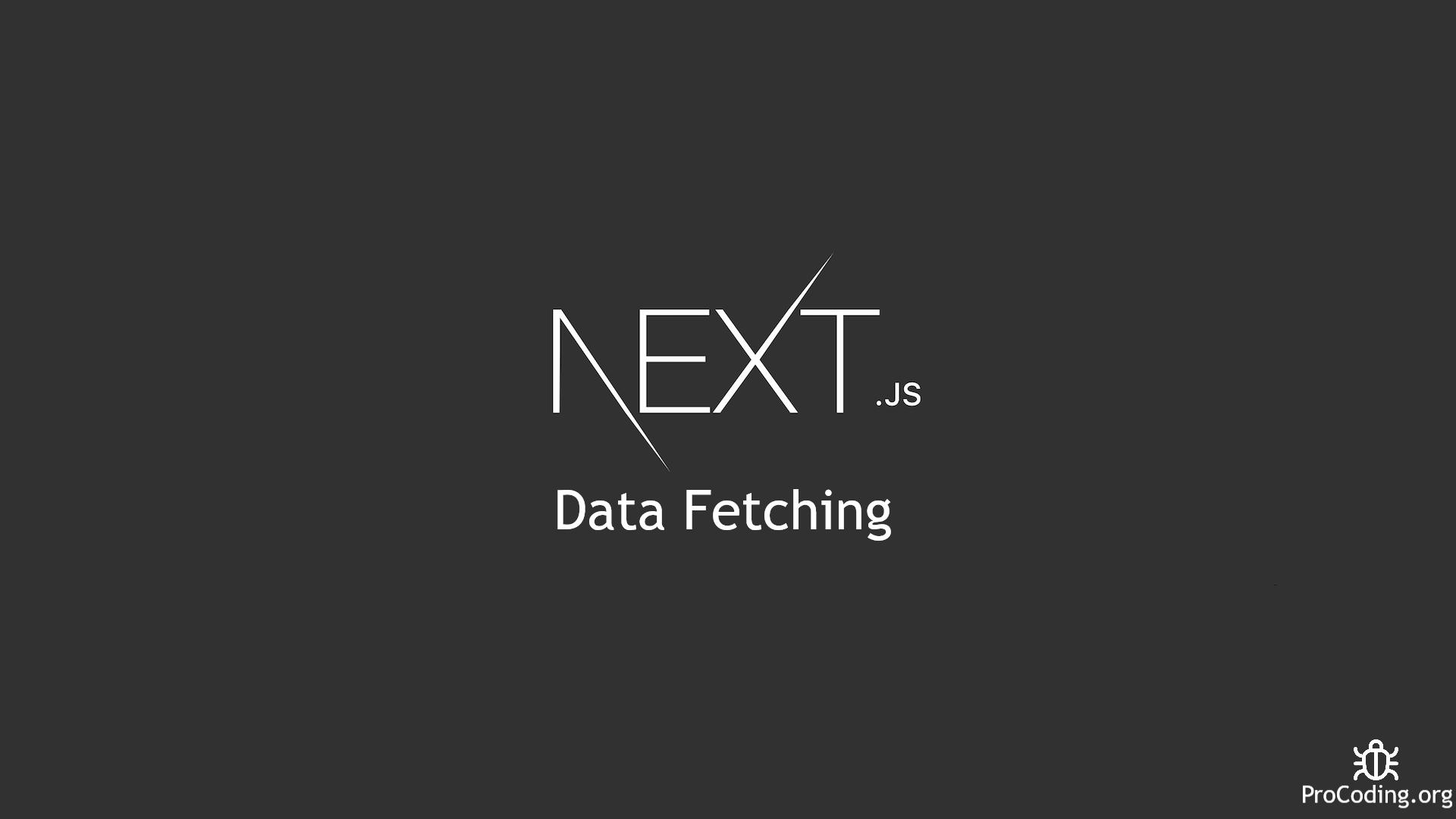 Nest js data fetching