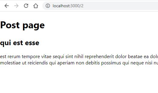 Nextjs post page